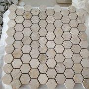Jura Beige Marble Mosaic